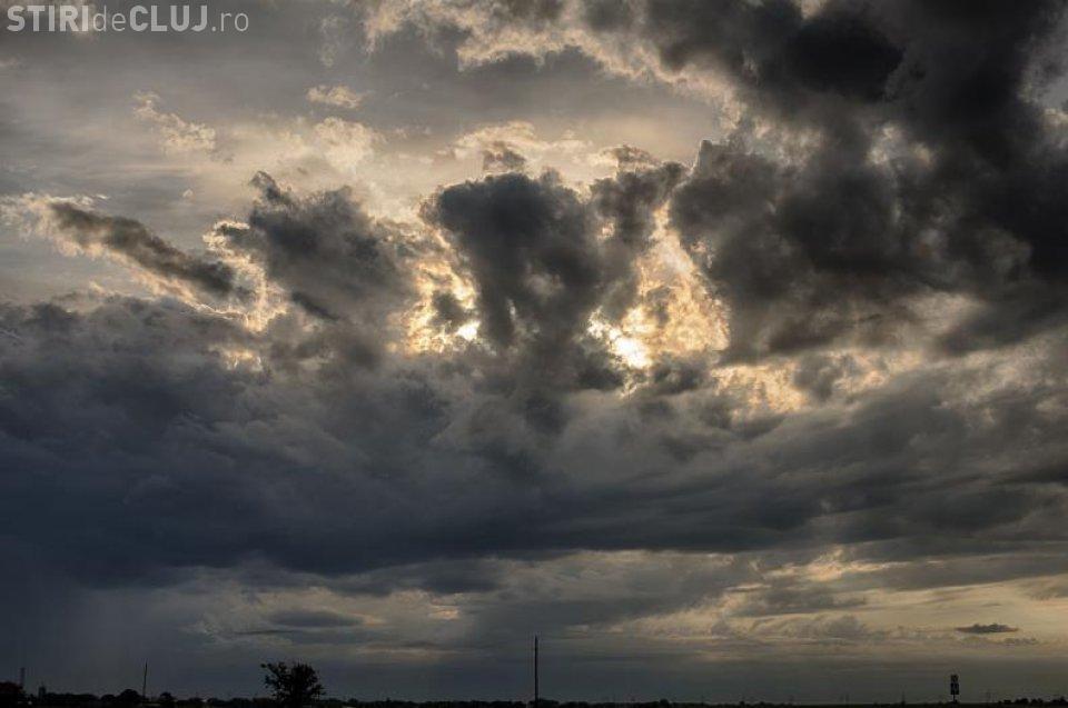 Vreme caldă, dar ploioasă, la Cluj. Vezi prognoza pentru weekend