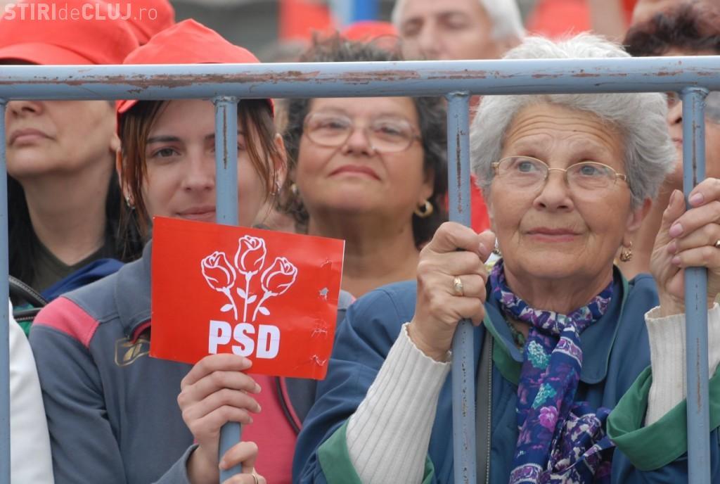 Mii de clujeni au cerut să participe la mitingul PSD
