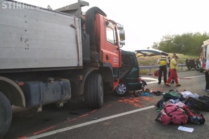 Nouă morți - Accident cu microbuz românesc în Ungaria