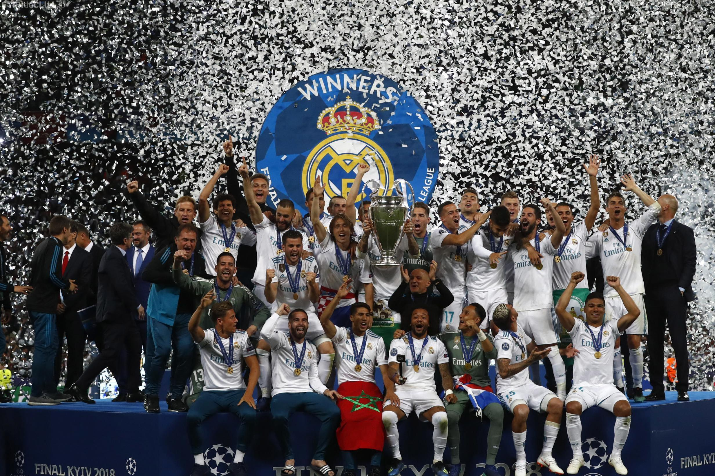 Real Madrid cucerește din nou Liga Campionilor! Spaniolii i-au învins categoric pe cei de la Liverpool REZUMAT VIDEO