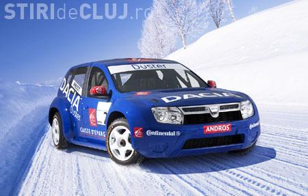Dacia Duster, testata pe zapada in Finlanda! Vezi cum s-a comportat masina - VIDEO