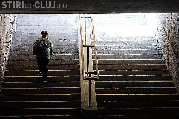 Primaria, acuzata ca modernizeaza pasajul Garii, dar nu amenajeaza rampe sau lifturi pentru accesul persoanelor cu handicap