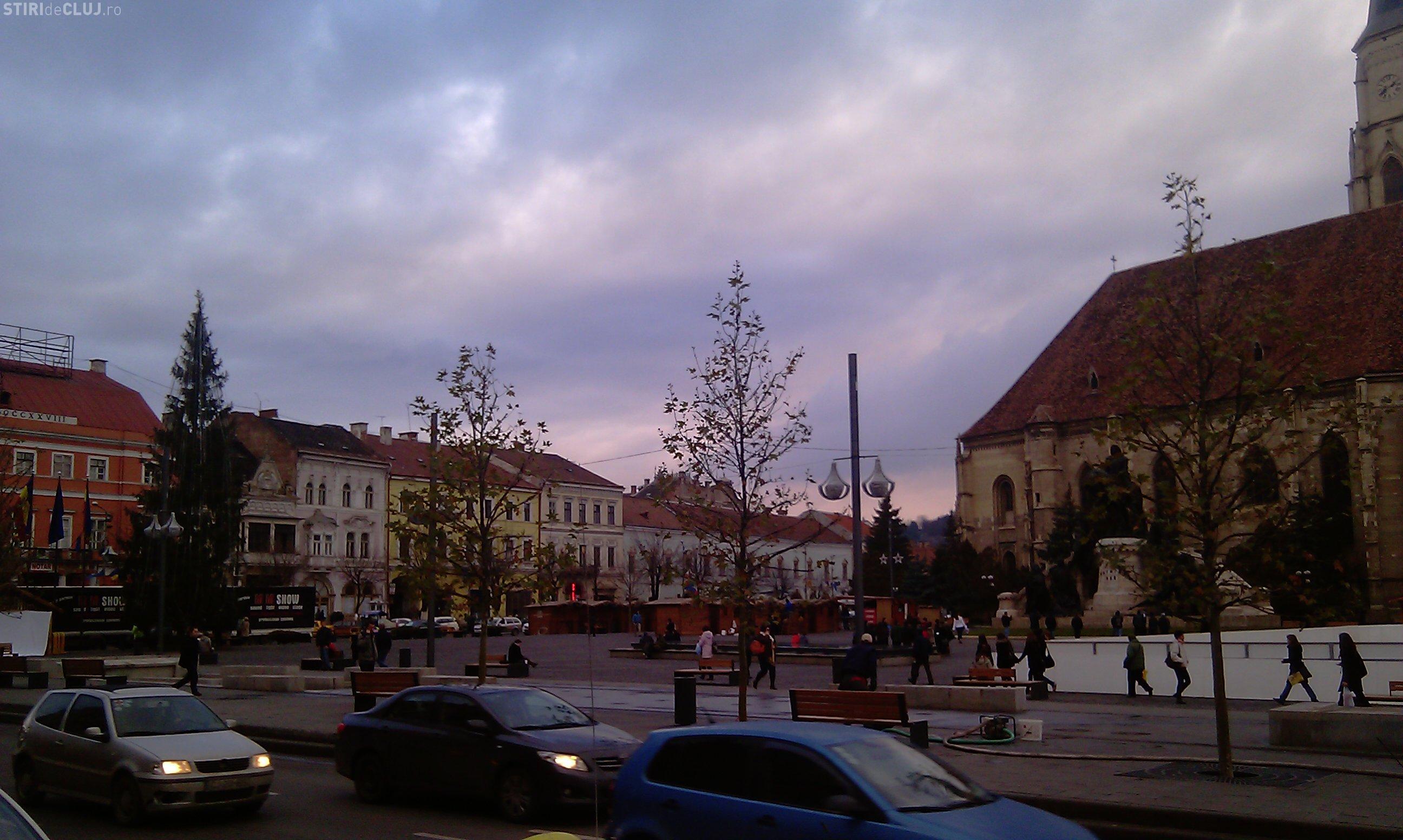 Amplasamente stradale pentru cadourile de Craciun, in Cluj Napoca