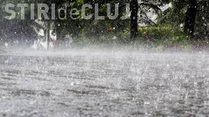 Cod galben de ploi puternice la Cluj. Ce zone sunt afectate