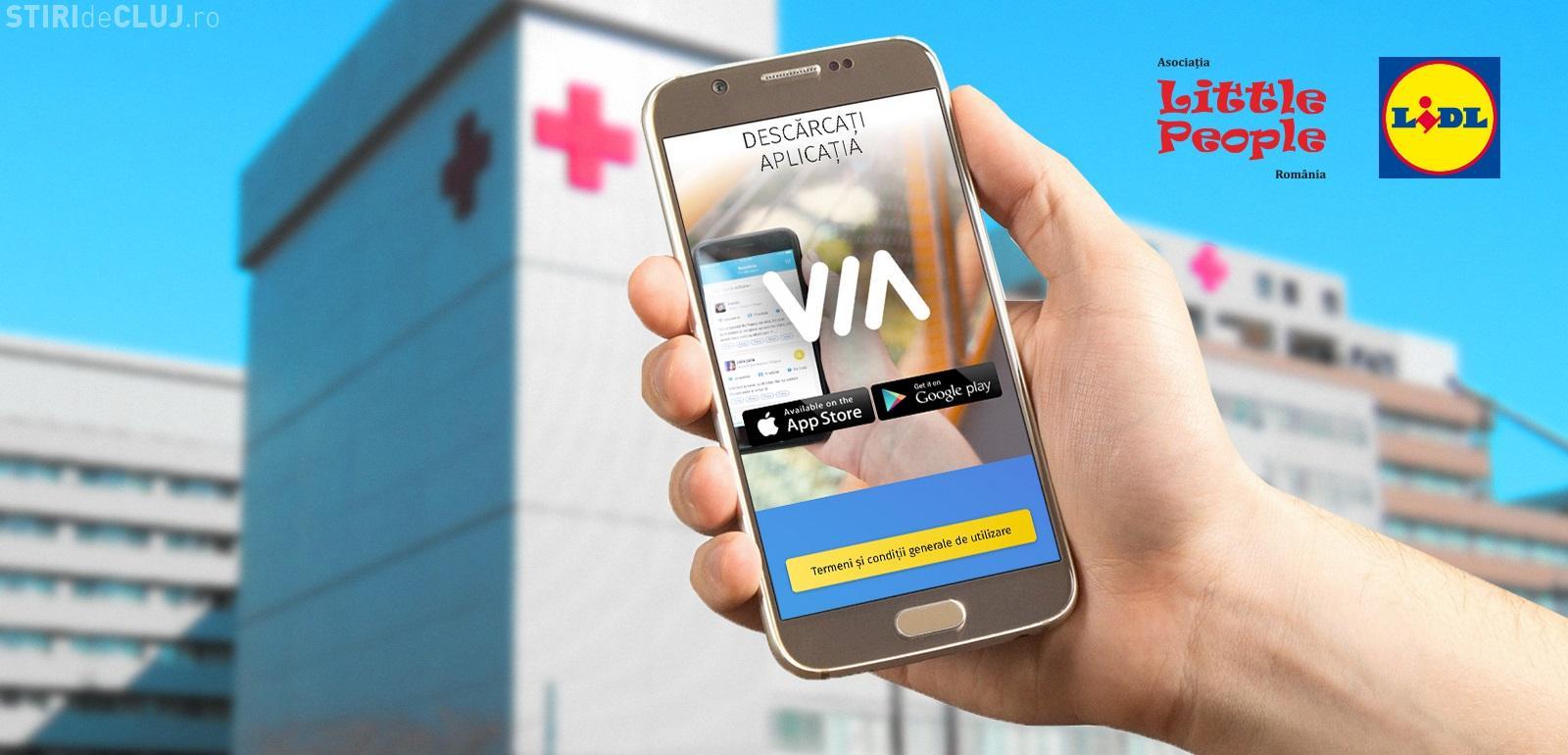 VIA - Prima aplicație mobilă pentru tinerii adulți afectați de cancer din România