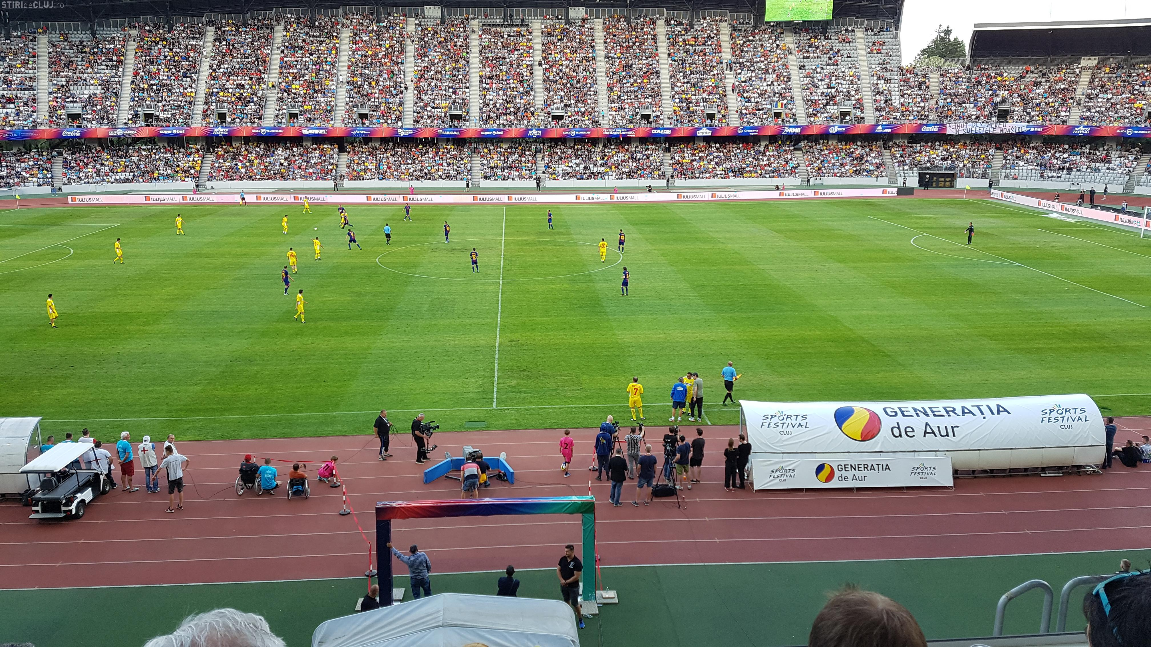 Hit -ul Mondialului din 1990 a răsunat pe Cluj Arena, cântat de Ad Libitum - VIDEO