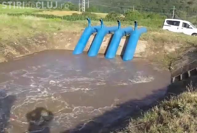 VIDEO: După 15 ani, sistemul de irigaţii din Cluj este repus în funcţiune