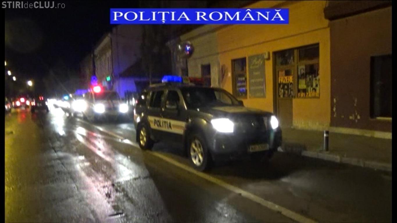 """Razii în cluburi și localuri la Cluj! Polițiștii au """"vânat"""" consumatorii și traficanții de droguri VIDEO"""