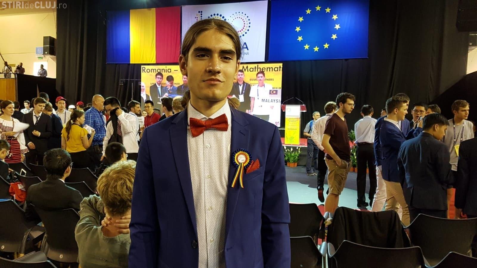 Ioan-Andrei Nicolae, elevul român care a obținut o medalie de aur la Olimpiada Internațională de Matematică. Ce planuri are pe viitor FOTO