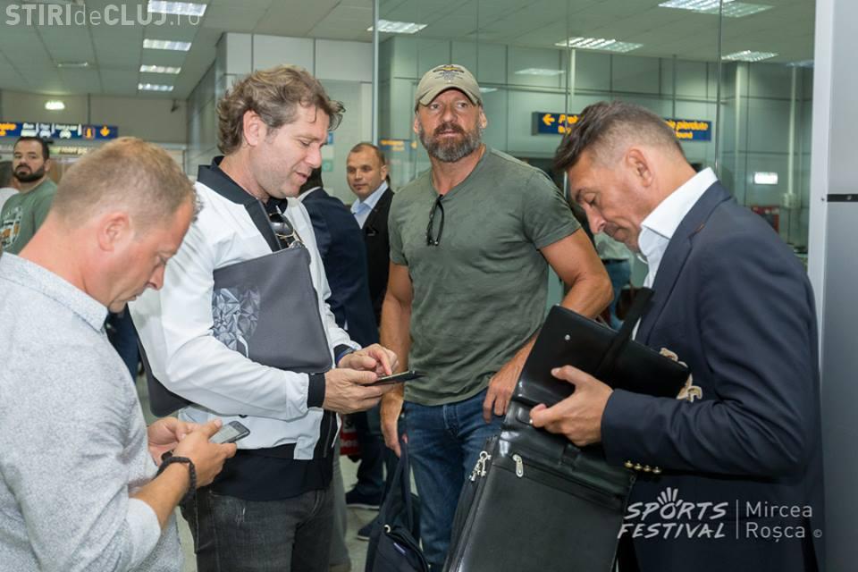 Generația de Aur a aterizat la Cluj-Napoca - FOTO
