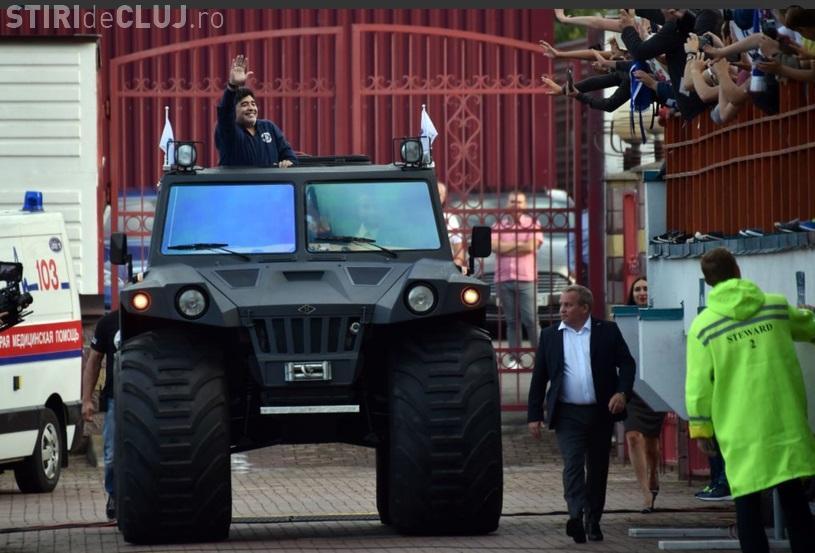 Diego Maradona a preluat echipa Dinamo Brest. Imagini de la prezentarea oficială a argentinianului