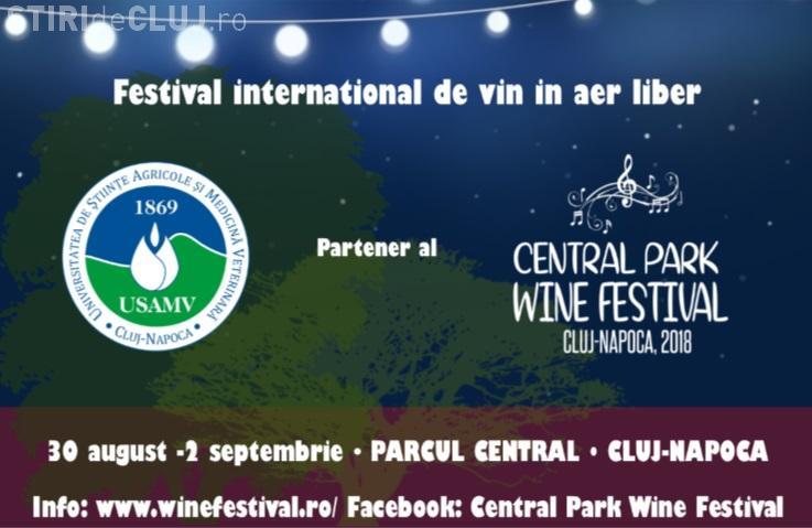 Universitatea de Științe Agricole și Medicină Veterinară din Cluj-Napoca, partener al Central Park Wine Festival