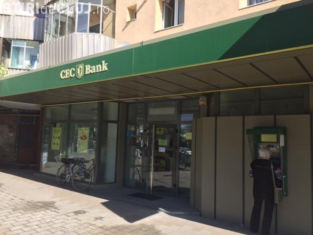 Cluj-Napoca: Tentativă de Jaf la Cec Bank în Mărăști. Spărgătorul a fost AMATOR