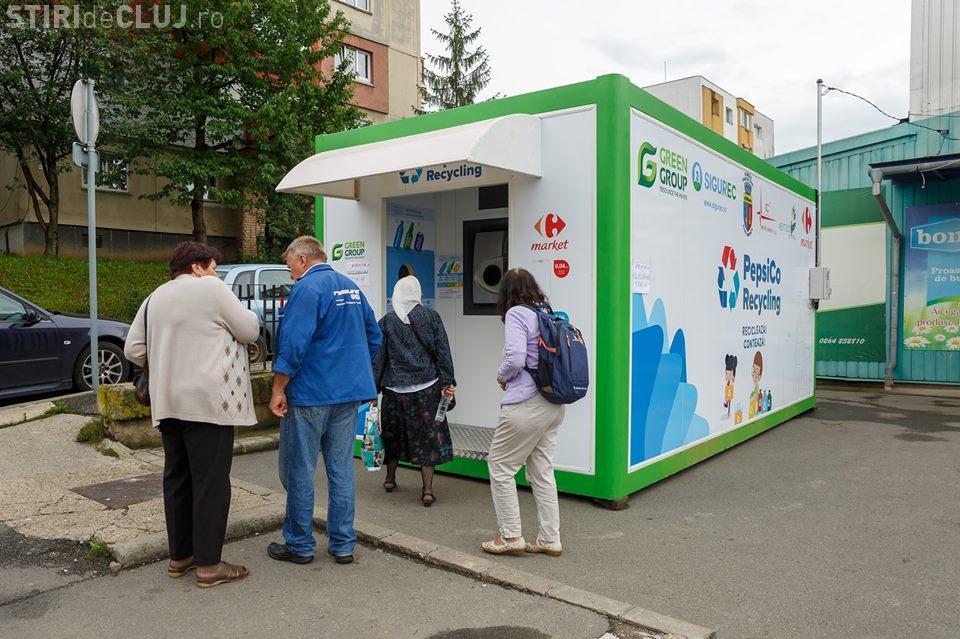 Două noi stații de colectare selectivă cu recompensă la Cluj. vezi unde sunt amplasate