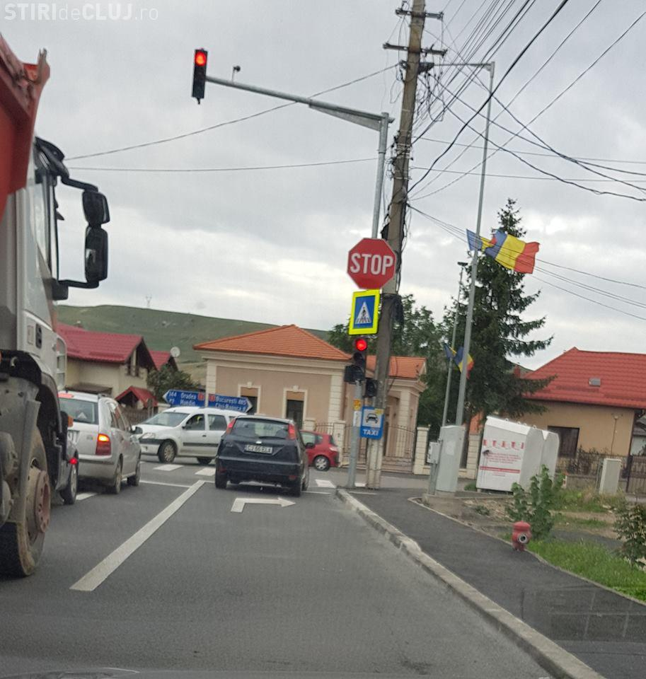 Noutate în traficul din Florești! S-a lărgit ieșirea de pe strada Cetății - FOTO
