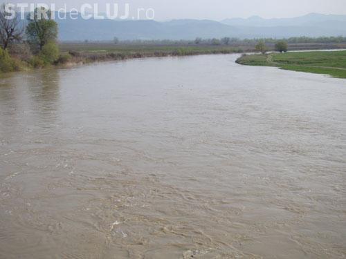 COD GALBEN de inundații în județul Cluj și mai multe județe din țară