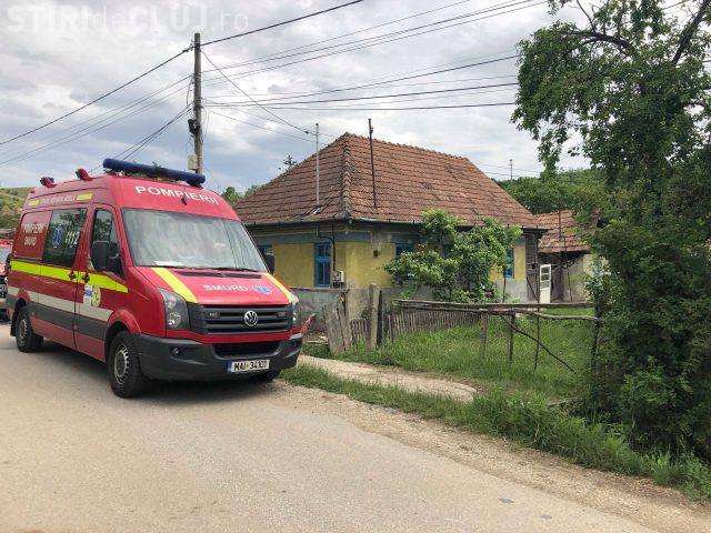 CLUJ: Femeie rănită grav în urma unei explozii de butelie la Dezmir VIDEO