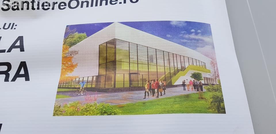 Chinteniul construiește în 5 luni o sală de sport modernă. Urmează Aquapark -ul