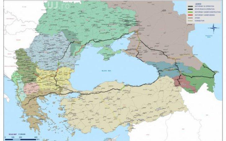 Cum va arăta super autostrada din jurul Mării Negre. Rusia a început lucrările