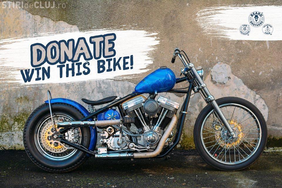 Tombola Beard Brothers oferă o motocicletă. Banii vor fi folosiți pentru a cumpăra o ambulanță