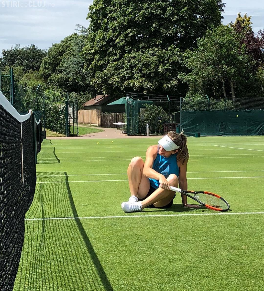 Mesajul amuzant al Simonei Halep, după sosirea la Wimbledon FOTO
