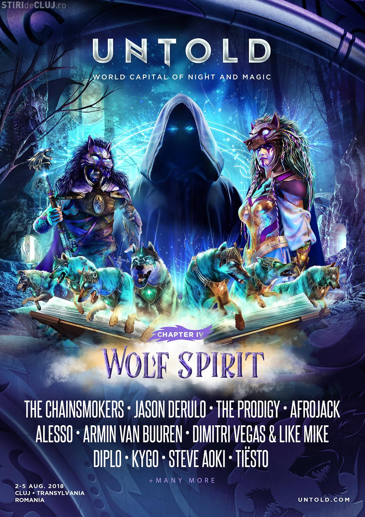 UNTOLD 2018 - WOLF SPIRIT! Descoperă povestea noului capitol UNTOLD