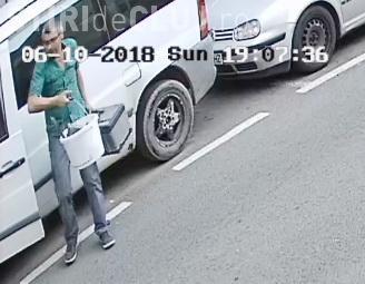 Spărgător de mașini, prins pe camerele de supraveghere la Cluj. Poliția îl caută. Îl recunoașteți? FOTO