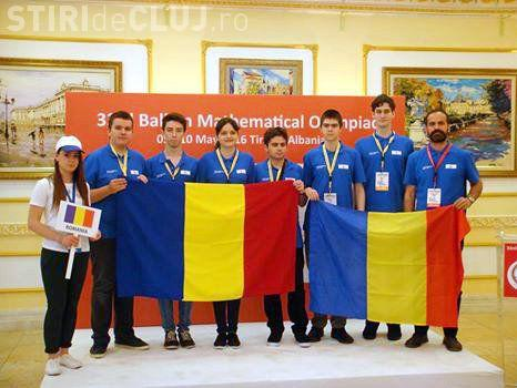România a câștigat 5 medalii de aur și o medalie de bronz la Olimpiada Balcanică de Matematică pentru Juniori