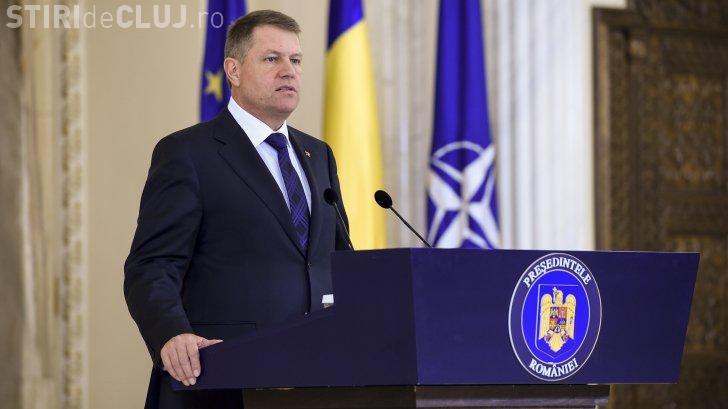 Președintele Klaus Iohannis vine la Cluj, în acest weekend. Participă la ceremonia de deschidere a Olimpiadei Internaționale de Matematică