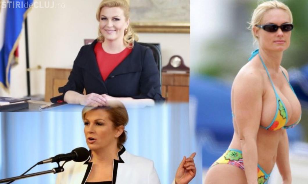 """""""Preşedinta Croaţiei, în costum de baie"""". De fapt, a fost un fake news - FOTO"""