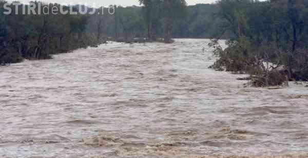 Cod galben de inundații în zeci de județe. Clujul se numără printre ele