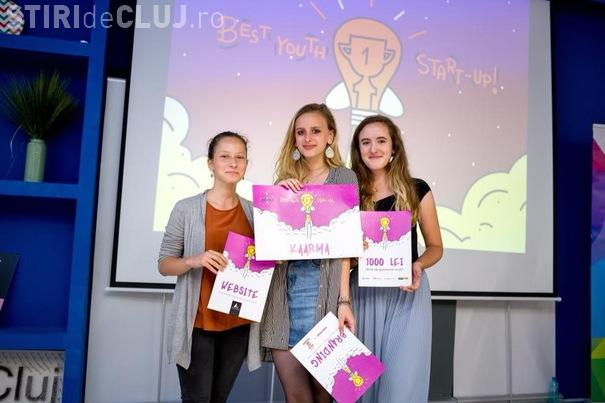 Trei eleve din Cluj-Napoca au castigat un concurs de start-up-uri! Vezi pentru ce proiect au reusit niste adolescente sa obtina finantare