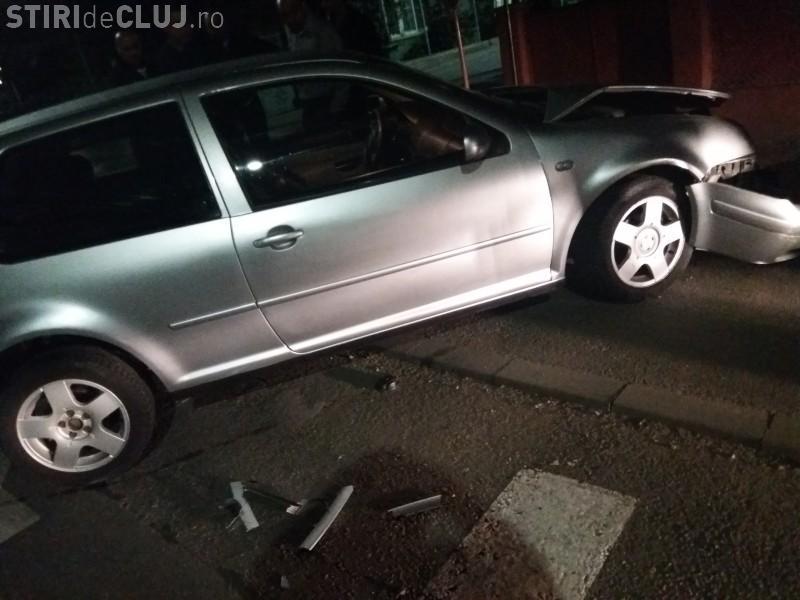 Accident în Florești urmat de fugă de la locul faptei! Șoferul este căutat - FOTO