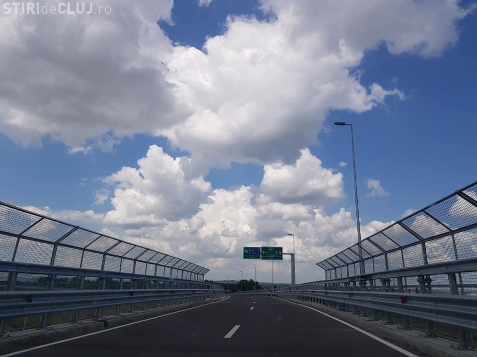 S-au deschis loturile 3 și 4 - Autostrada Turda-Sebeș - Primele imagini FOTO