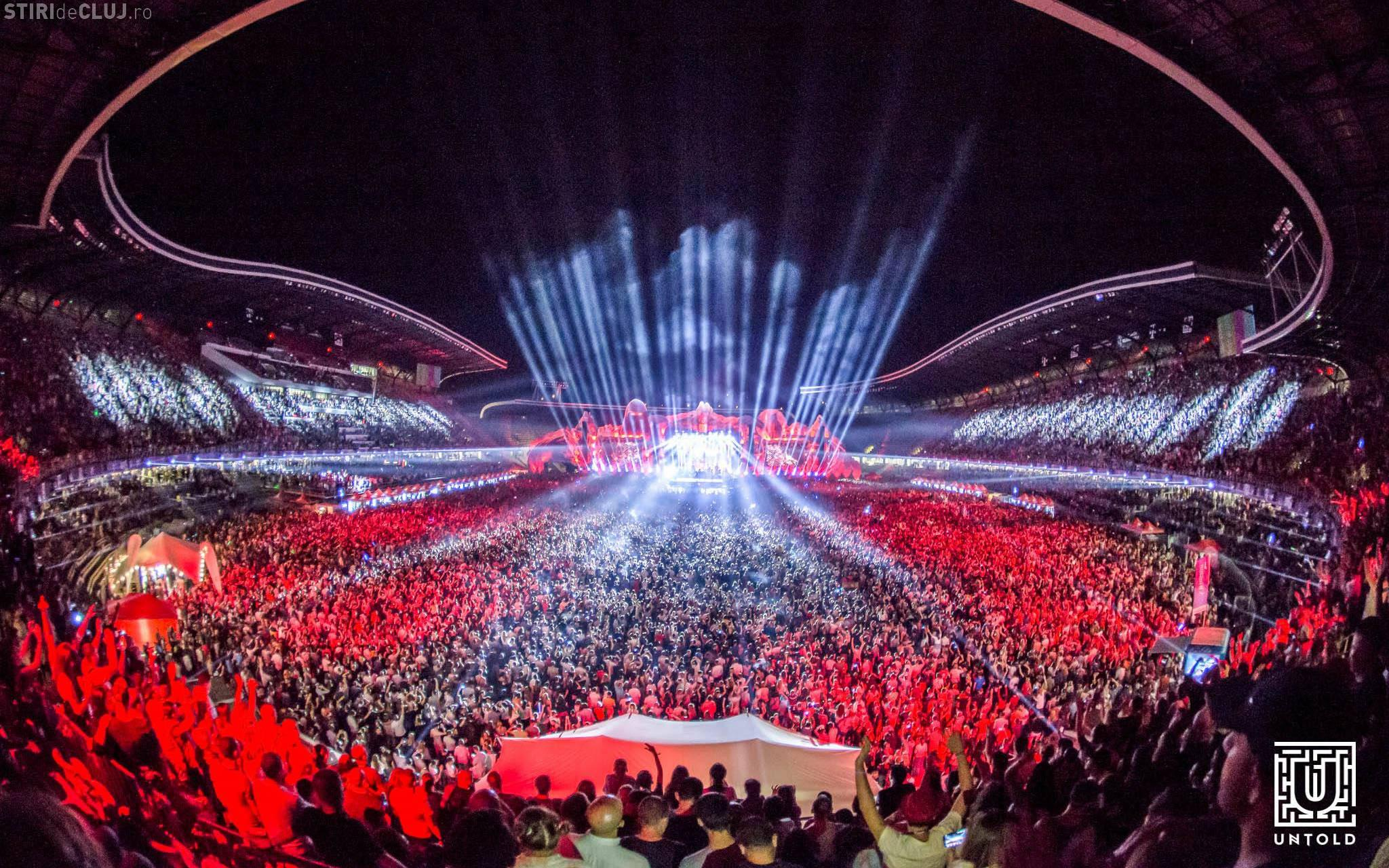 Untold 2018: Restricții de circulație în zona Cluj Arena