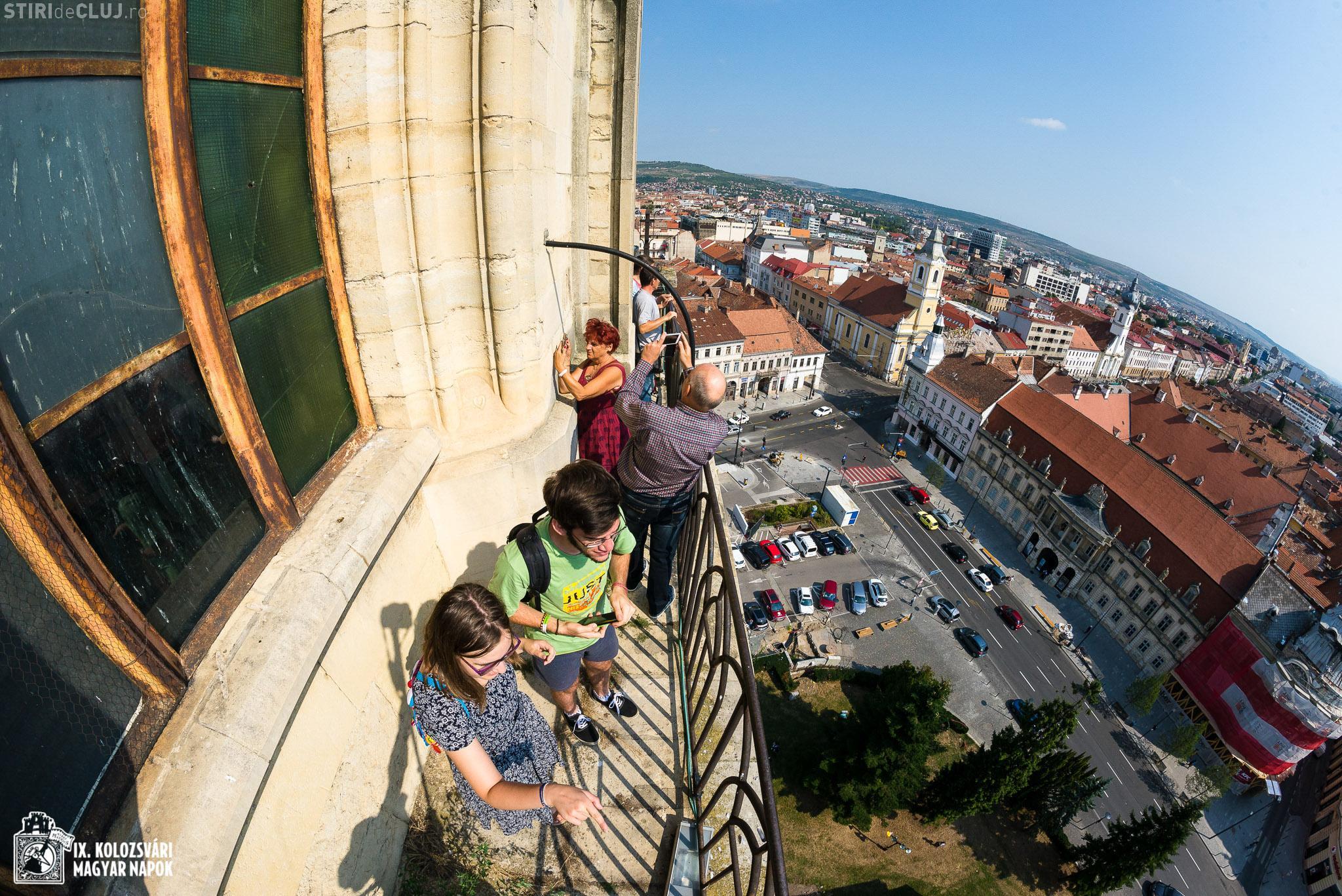 Turnul Bisericii Sfântul Mihail poate fi vizitat timp de 2 zile