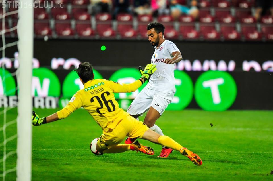 CFR Cluj a bătut Dinamo în fața a 8.000 de spectatori - REZUMAT VIDEO