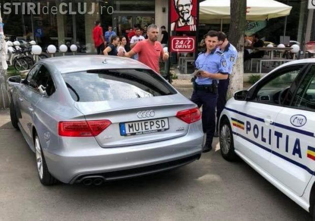 """Șoferul cu numărul """"M...PSD"""" primește permisul înapoi și i se anulează dosarul penal"""