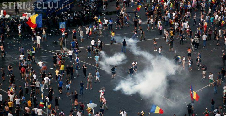 Cât a costat muniția folosită de jandarmi împotriva protestatarilor