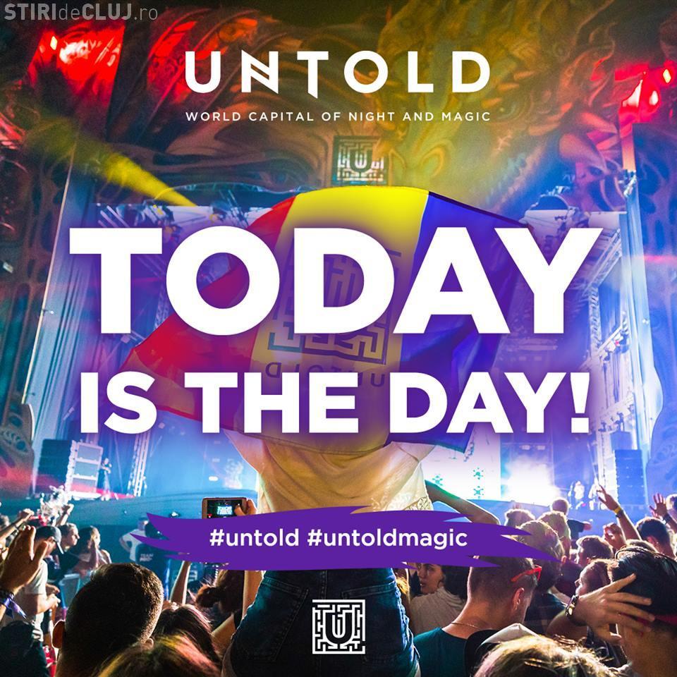 #UNTOLD2018 - Programul din prima zi și ce surprize vor fi