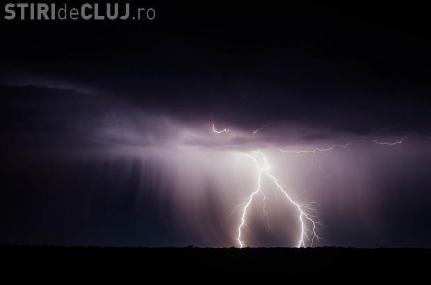 Cod galben de furtuni la Cluj. Ce localități sunt afectate