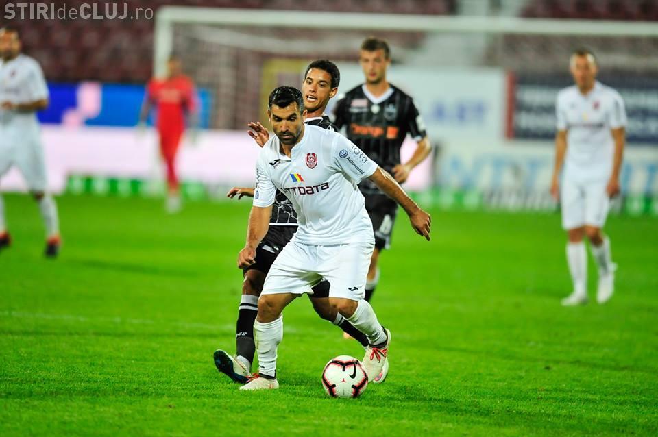 CFR Cluj a pierdut în Luxemburg, cu 2-0 - REZUMAT VIDEO
