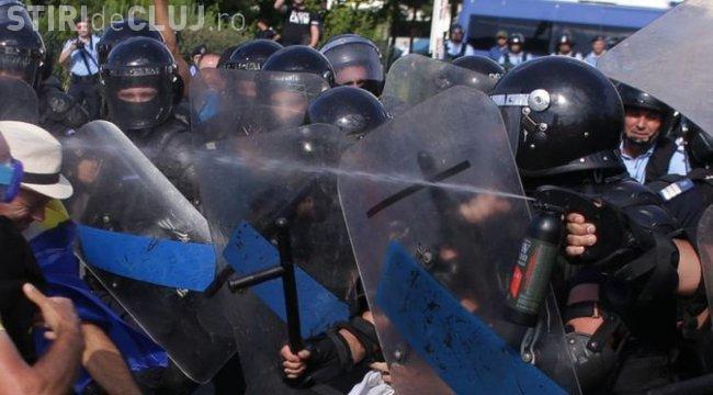 Un protestatar gazat la mitingul Diasporei a MURIT