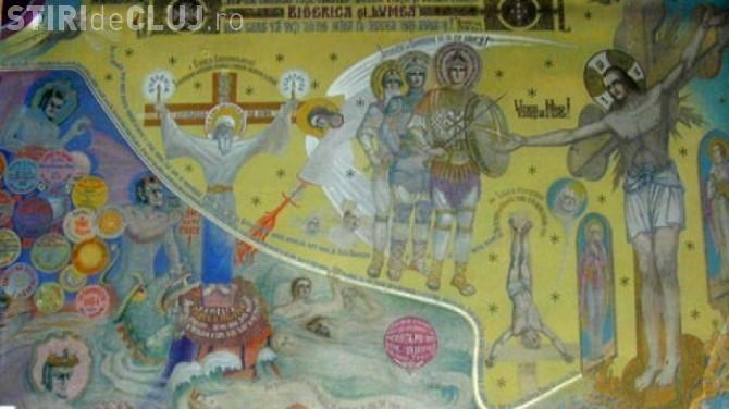 Profeţia pictată a părintelui Arsenie Boca. Imagini premonitorii din biserica pictată de Sfântul Ardealului