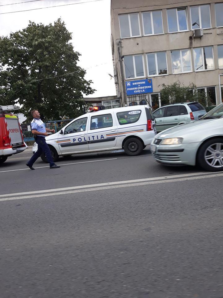 Accident cu șase victime la Aeroport. Au scăpat cu răni ușoare FOTO