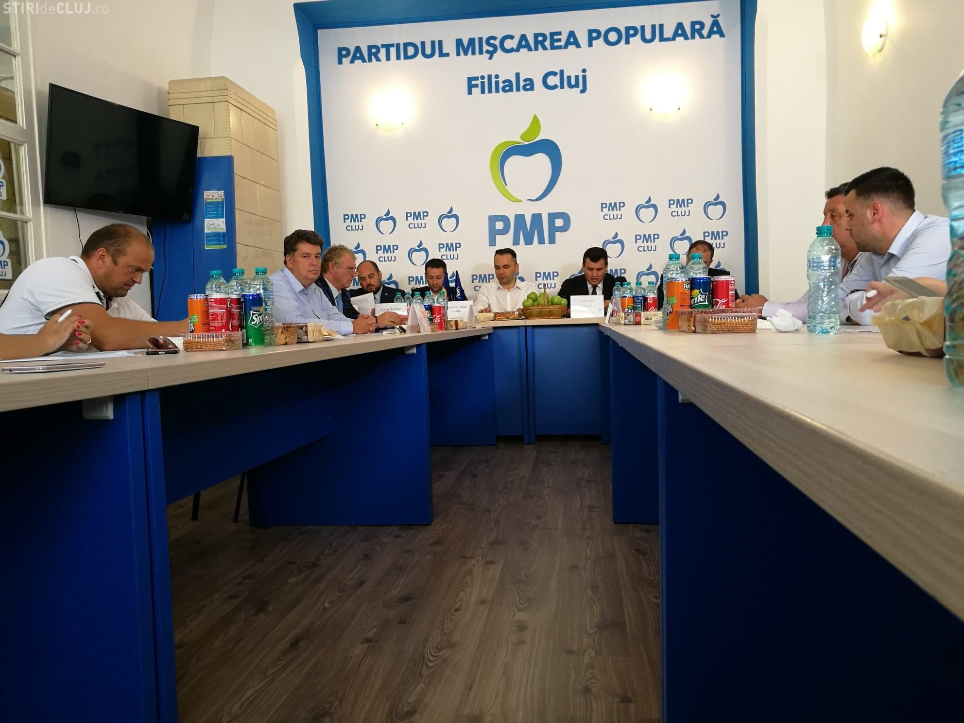 Liderii PMP s-au reunit la Cluj pentru a analiza trei proiecte importante ale partidului