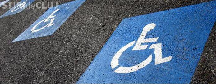Amenzi de 5 ori mai mari pentru cei care parchează pe locurile persoanelor cu handicap