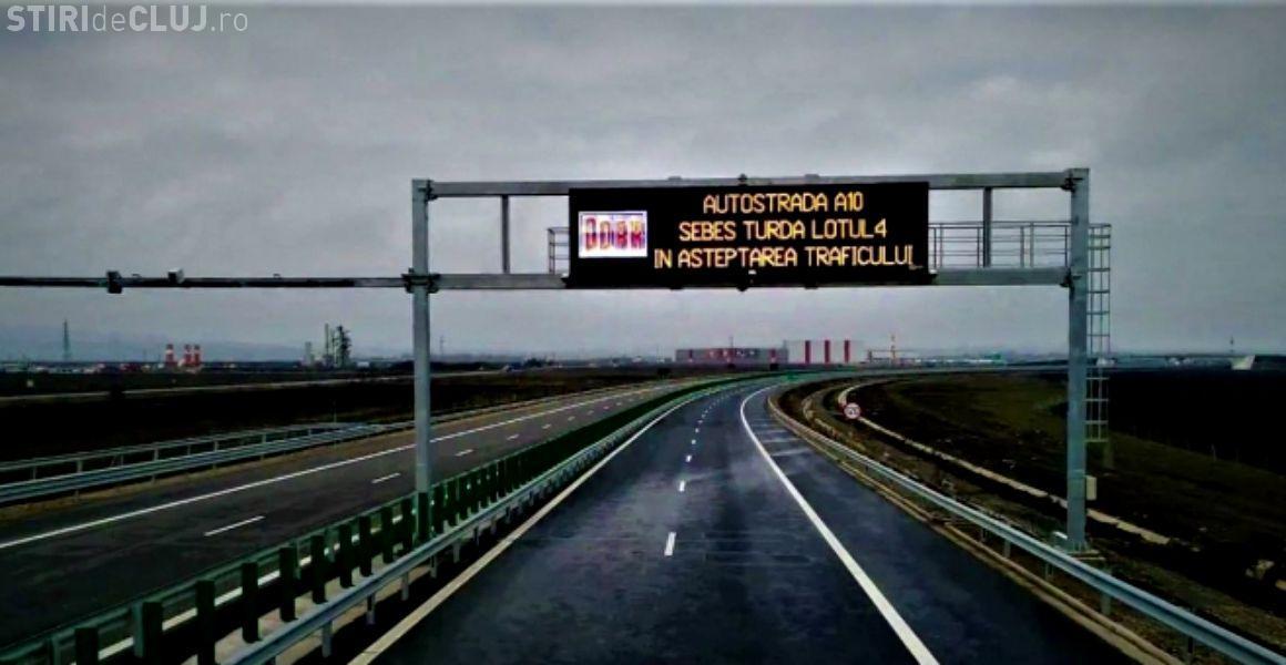 A fost recepționat lotul 4 al autostrăzii Sebeş - Turda, finalizat în decembrie 2017