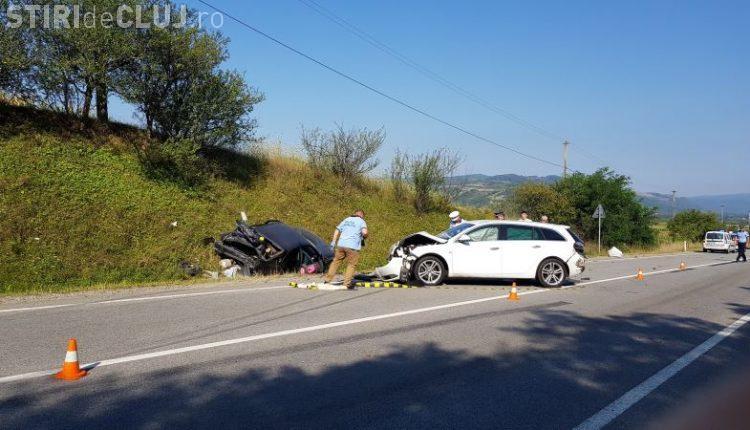 CLUJ: Accident cu două victime, cauzat de un șofer de camion FOTO/VIDEO