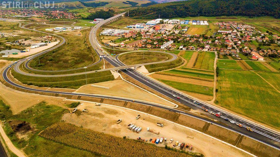 Surse: Pe noua autostradă a Clujului s-ar putea circula în această săptămână
